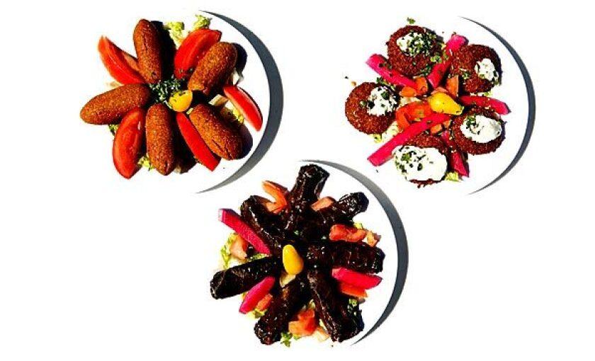 Dishes at Jasmine Mediterranean Restaurant.