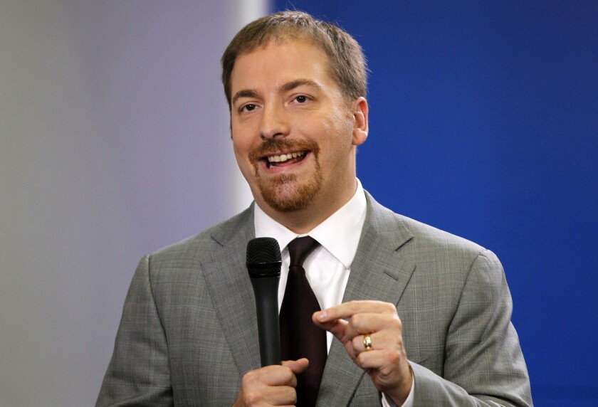 "The 5 p.m. Eastern time slot for ""The Ed Show"" will be filled by a new daily program with NBC News political director and ""Meet the Press"" moderator Chuck Todd."