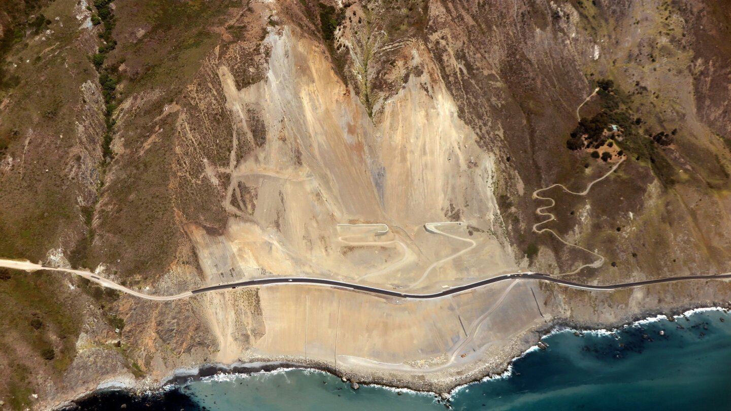 California 1 in Big Sur set to reopen