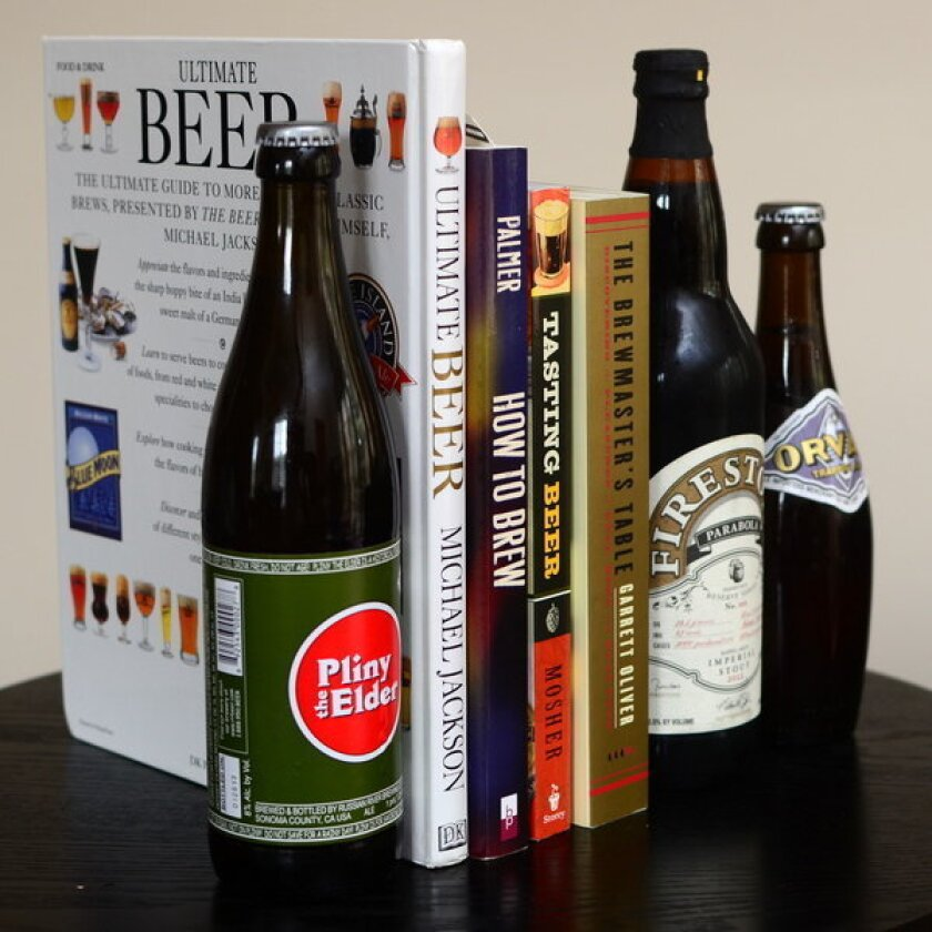 """If you're intrigued by exploring the possibilities of food-and-beer pairings, """"The Brewmaster's Table"""" by Brooklyn Brewing's brewmaster Garrett Oliver is a good place to start."""
