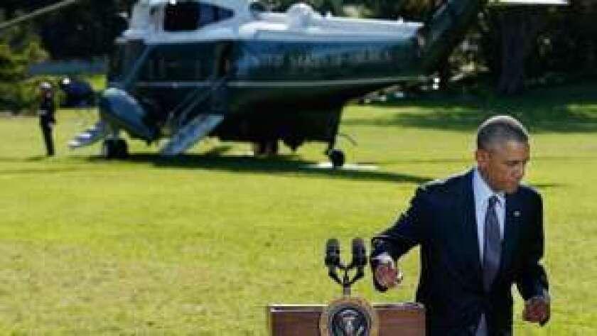 Obama quiso evitar implicar a Estados Unidos en guerras costosas como las de Irak y Afganistán.