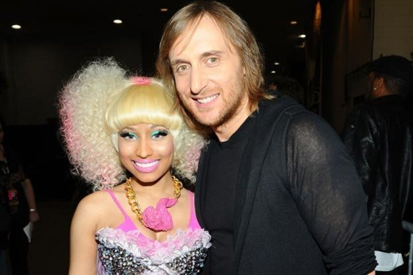 "Nicki Minaj sings on David Guetta's track ""Turn Me On"""