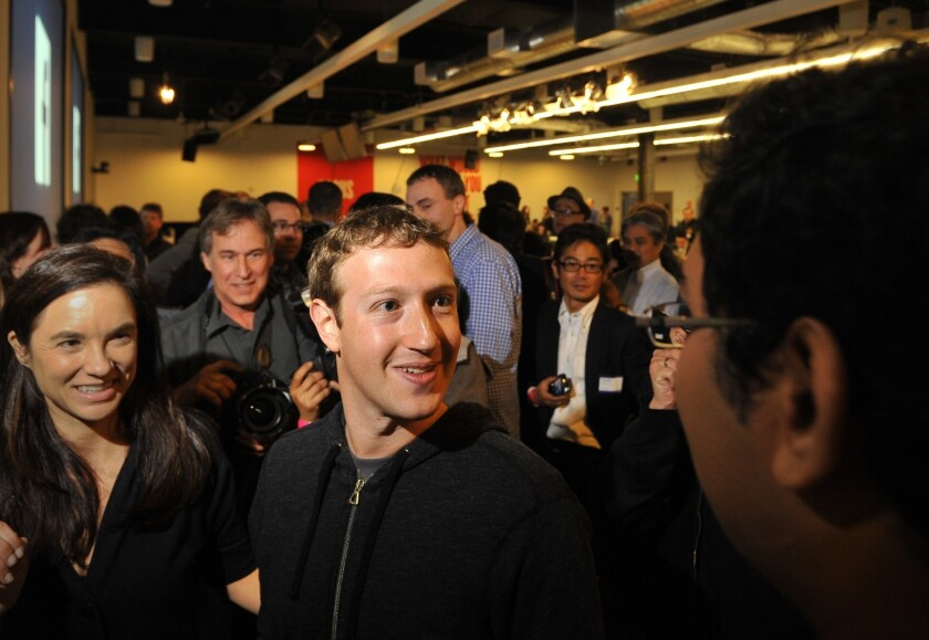 Facebook co-founder and Chief Executive Mark Zuckerberg has announced an initiative to expand Internet access around the globe.