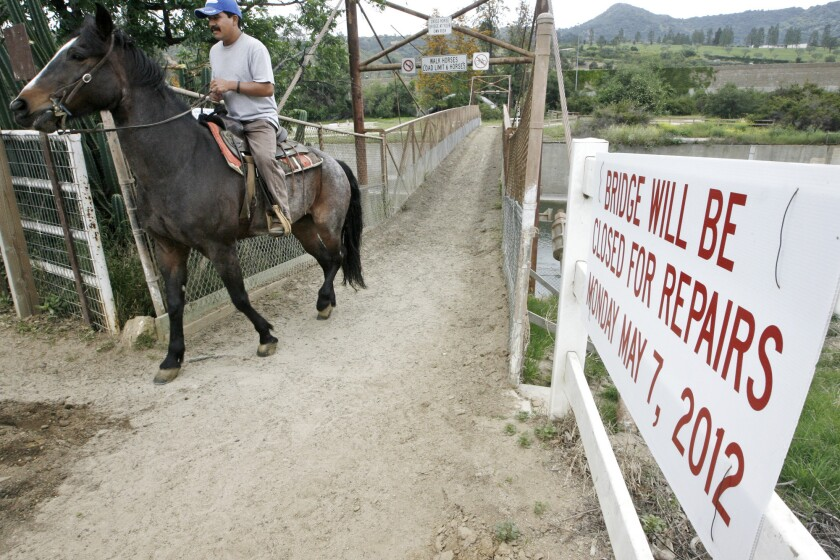 Equestrians, cyclists make their case with Burbank City Council
