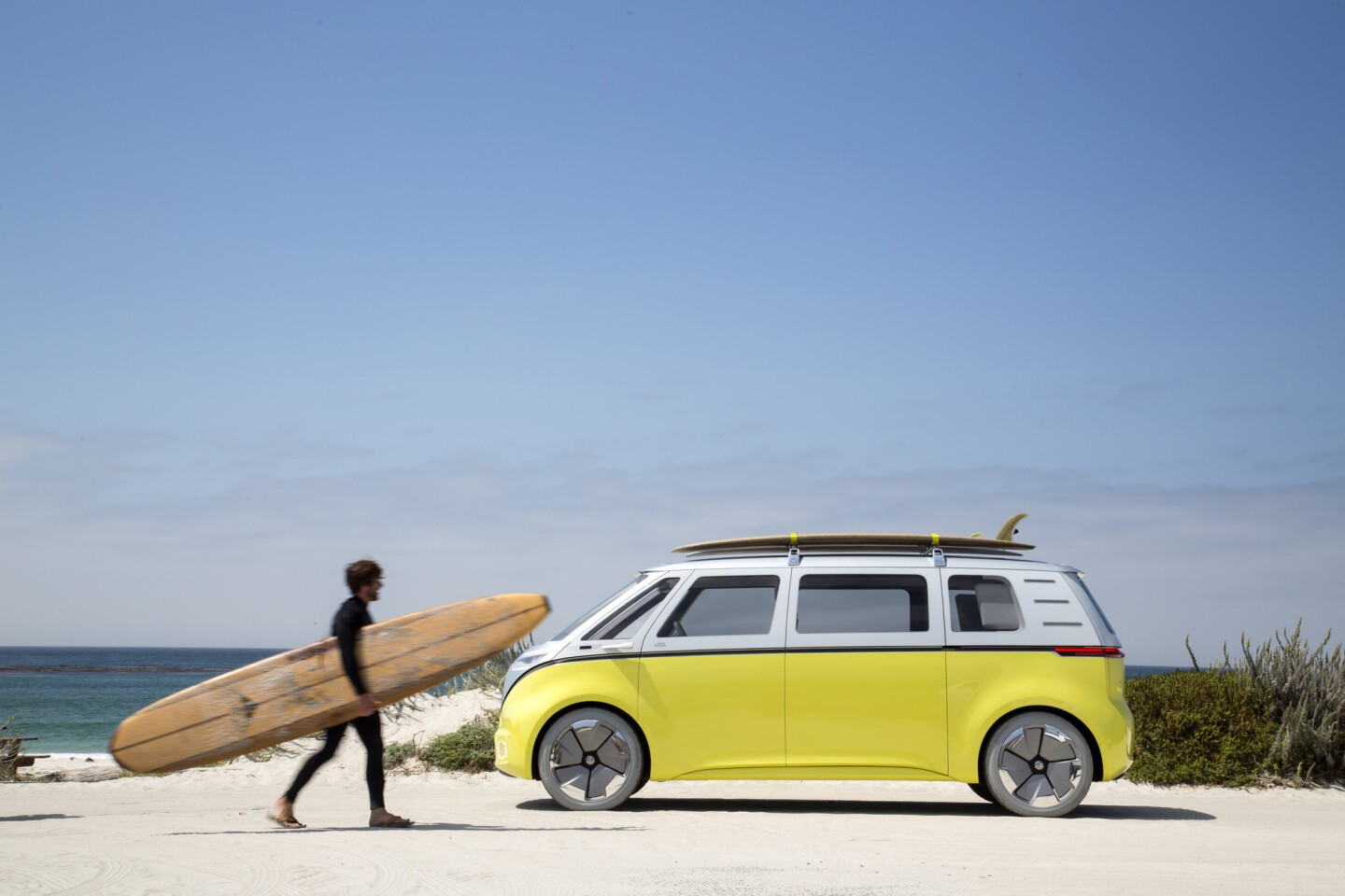 Volkswagen has announced it will bring back the most iconic vehicle of the 1960s: its VW van, returning sometime in the next two years as the I.D. Buzz.