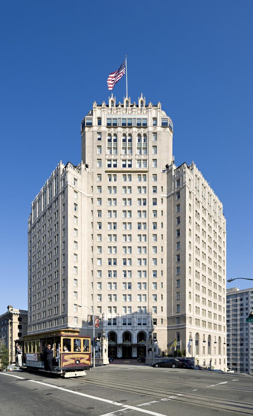 The Mark Hopkins Hotel