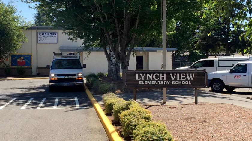 Lynch View Elementary School in Portland, Ore.