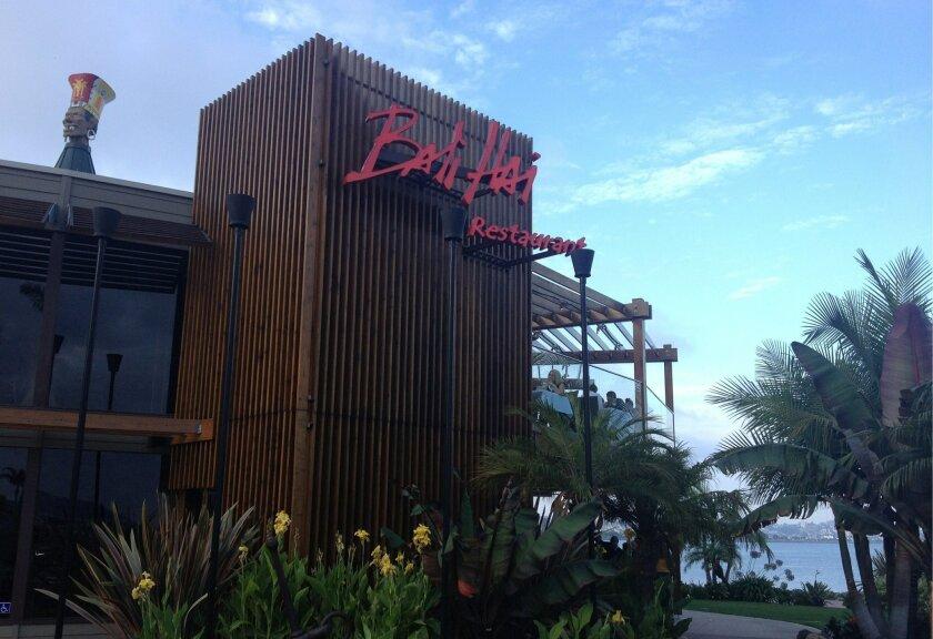 Bali Hai Restaurant.