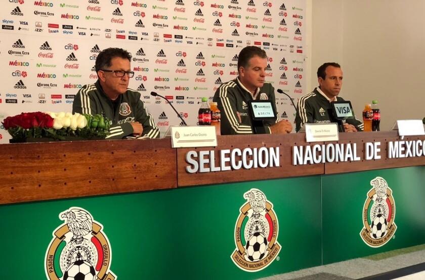 SIGUEN los experimentos en el Tri, Osorio ofrece sorpresas para partidos ante Bélgica y Polonia