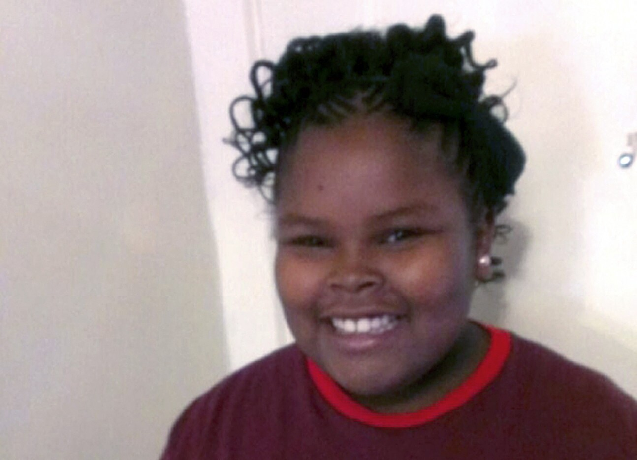 Jahi McMath, shown in an undated photo provided by her family.