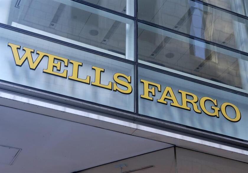 Foto de archivo de una vista general de la sede del banco de inversión estadounidense Wells Fargo en Nueva York (Estados Unidos). EFE/Archivo