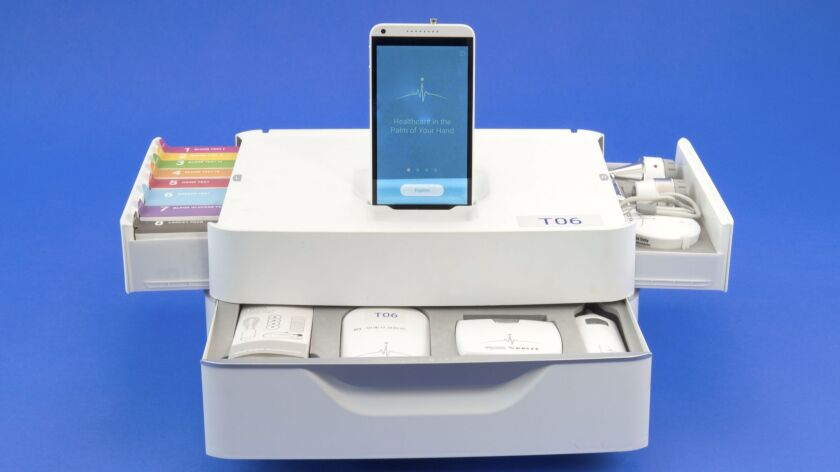"""Dynamical Biomarkers Group's """"Tricorder"""" medical device is a finalist for the $10 million Tricorder XPrize"""