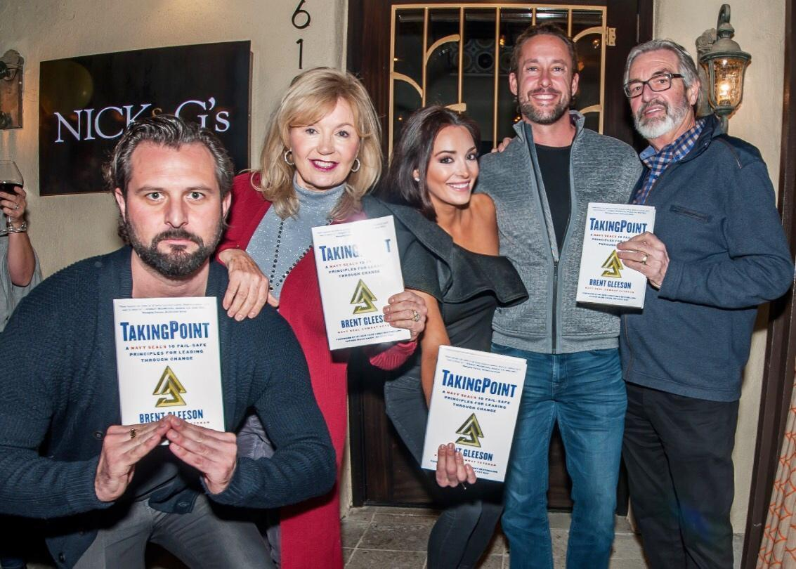 Book release party held for author Brent Gleeson