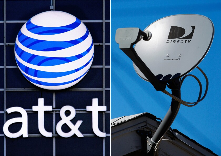 San Diego's Herring Networks claimsthat AT&T reneged on an agreement to carry two of Herring's channels on DirecTV after Herring supported AT&T's takeover of the satellite TV provider.