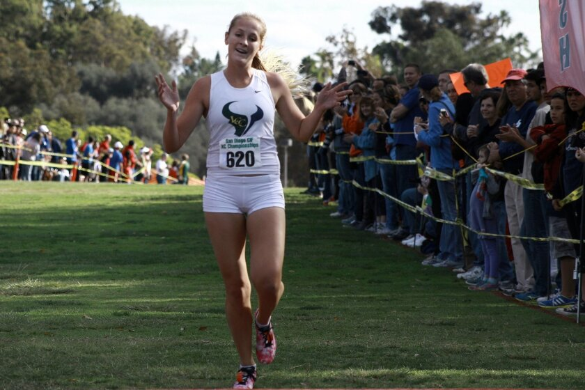 Senior Emma Abrahamson will lead La Costa Canyon as the team continues its quest for a state championship.