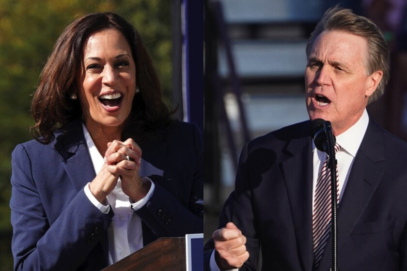 Georgia Sen. David Perdue purposefully mispronounced vice presidential nominee Sen. Kamala Harris' name recently.