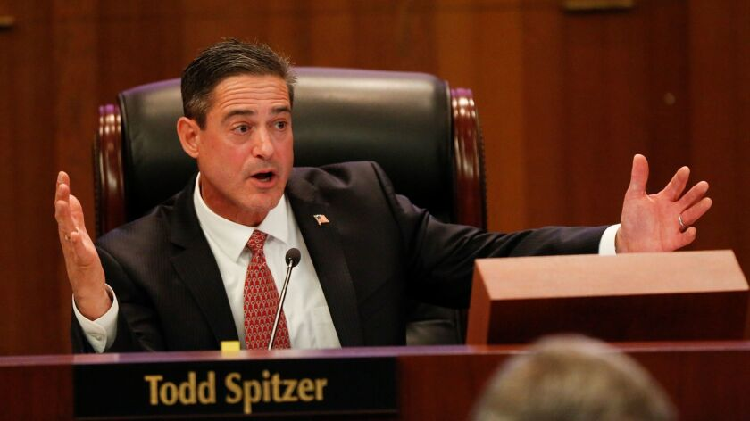 An investigator with the Orange County district attorney's office was unable to confirm several allegations in a probe of Supervisor Todd Spitzer.