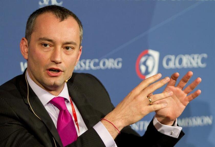 El ministro de Exteriores búlgaro Nickolay Mladenov. EFE/Archivo
