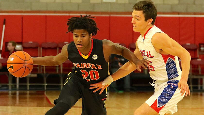The Times' boys' basketball rankings - Ethan Anderson
