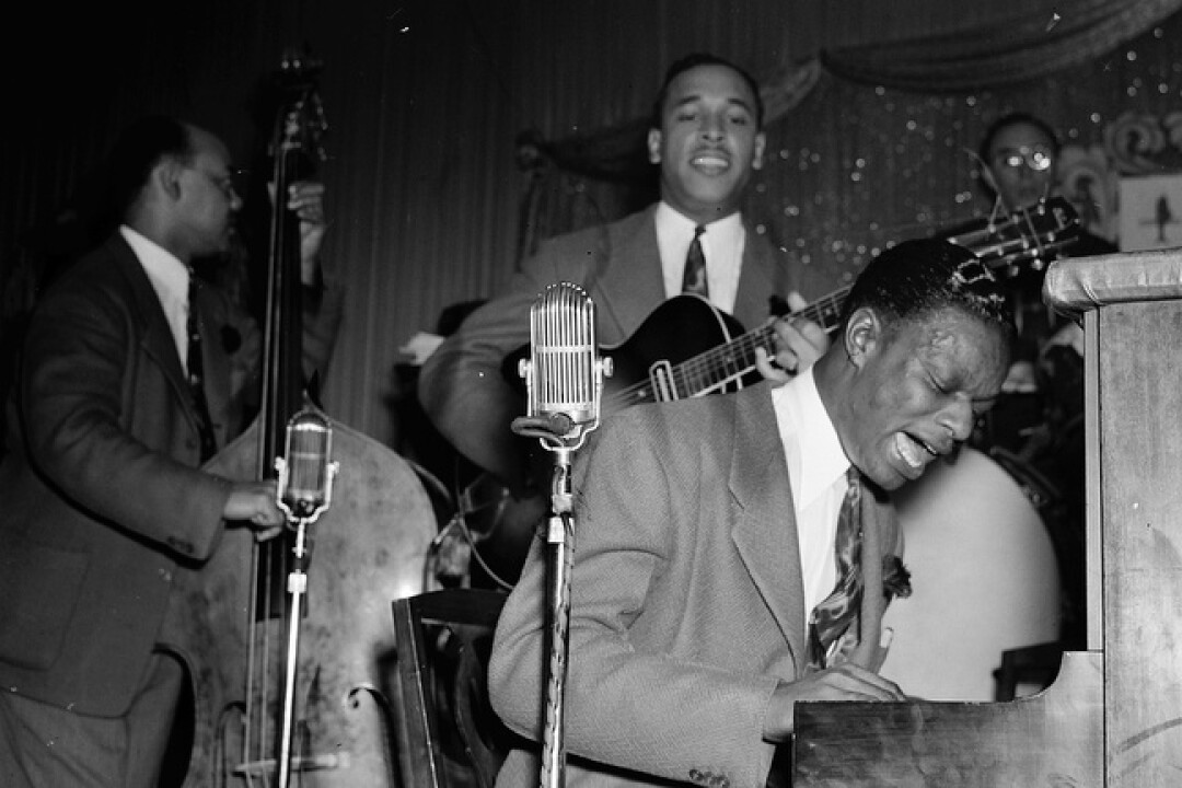 Nat King Cole, in an undated photo, was among the big names who performed on Central Avenue.