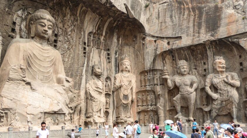 The Story of China PBS The Longmen Caves near Luoyang