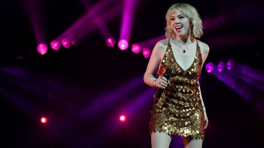 Carly Rae Jepsen At T-Mobile Arena In Las Vegas