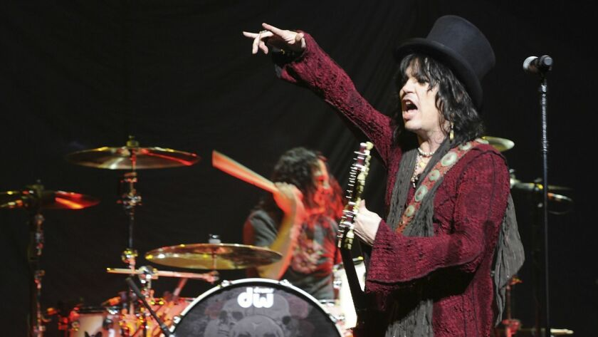 Tom Keifer of Cinderella is scheduled to perform aboard the 2019 Monsters of Rock cruise aboard the Mariner of the Seas.