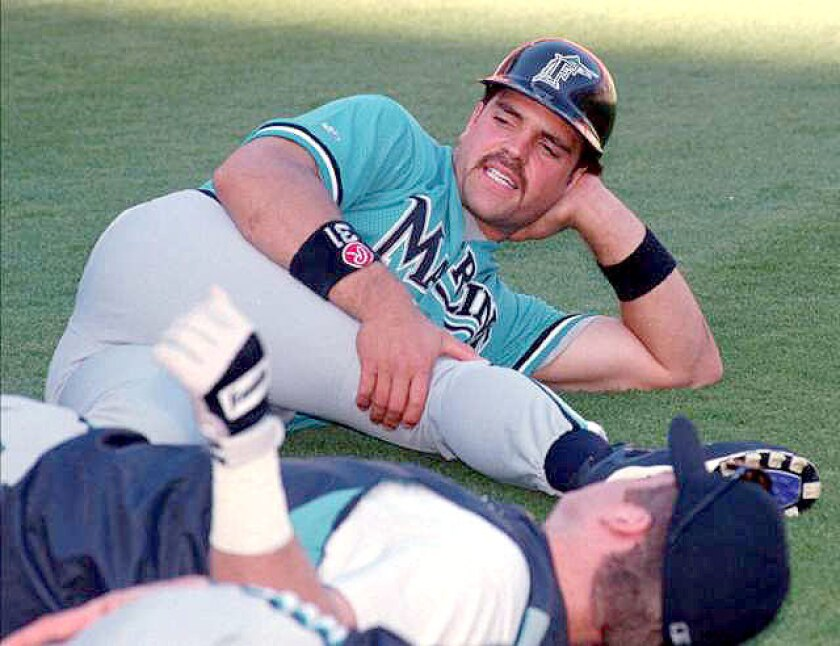 In May 1998, Mike Piazza was traded from the Dodgers to the Marlins in a blockbuster deal.