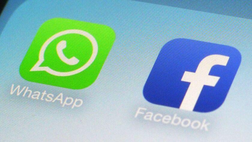 Facebook bought messaging app WhatsApp in 2014.