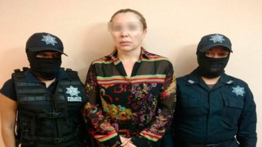 Claudia Elena Laborín Archuleta, esposa del capo Héctor Beltrán Leyva, fue detenida por elementos de la Policía Federal, confirmaron fuentes de la Comisión Nacional de Seguridad (CNS).