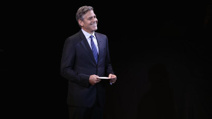 Foto de archivo de George Clooney.