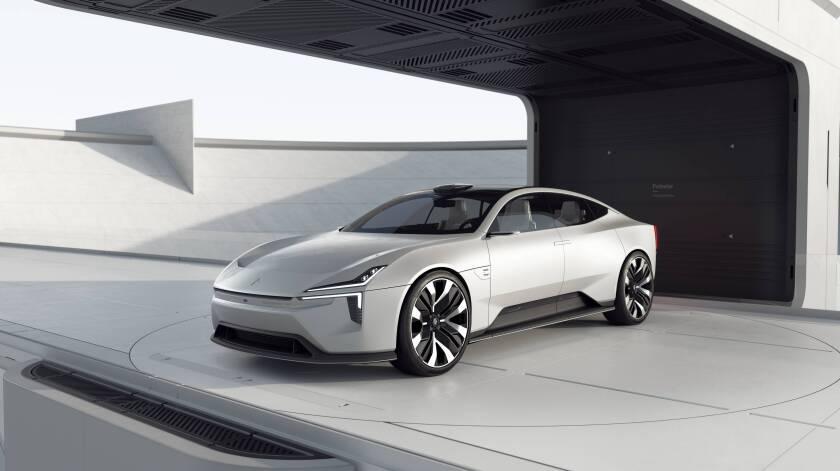 The Polestar Precept concept car telegraphs the company's design direction.