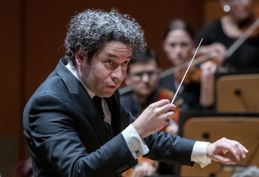 Gustavo Dudamel, the L.A. Phil's music and artistic director, aims to expand an art form historically dominated by European men.
