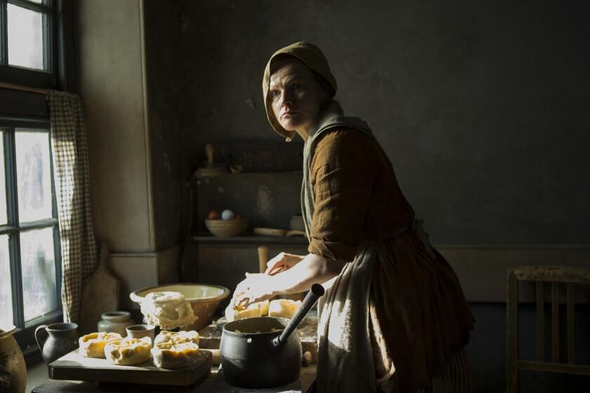 "Maxine Peake as Nellie in a scene from ""PETERLOO."" Credit: Simon Mein/Amazon Studios"