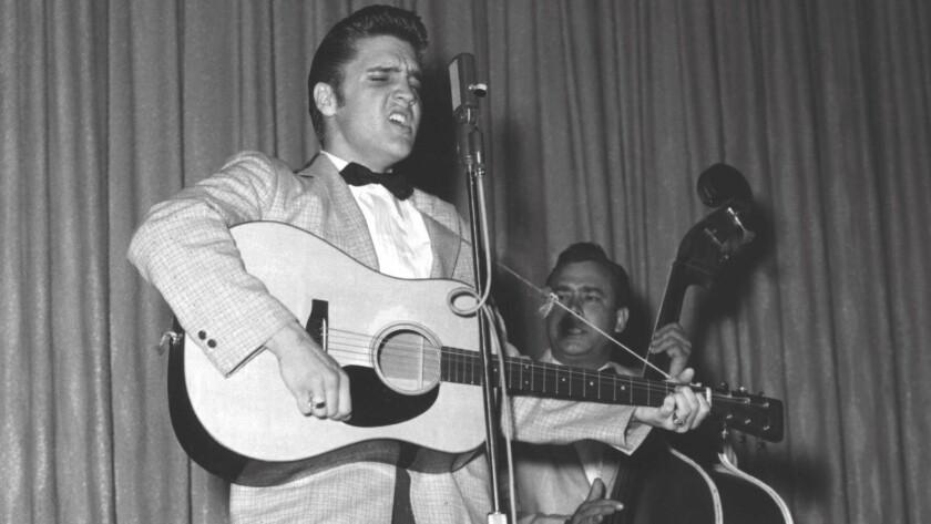 New Frontier Hotel, Elvis Presley 4/30/1956