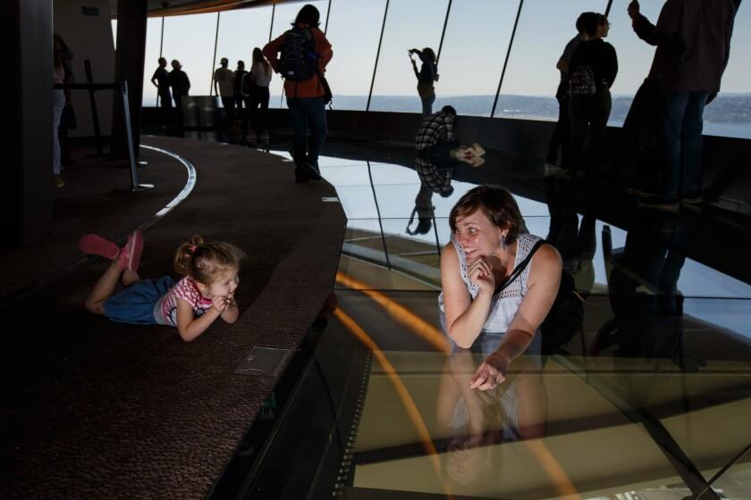 Space Needle's new glass floor