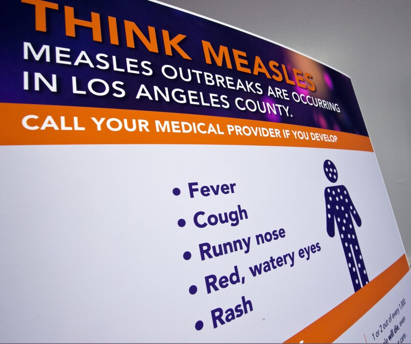 Since the beginning of the year, 1,261 individual cases of measles have been confirmed in the U.S., the highest number in 27 years.