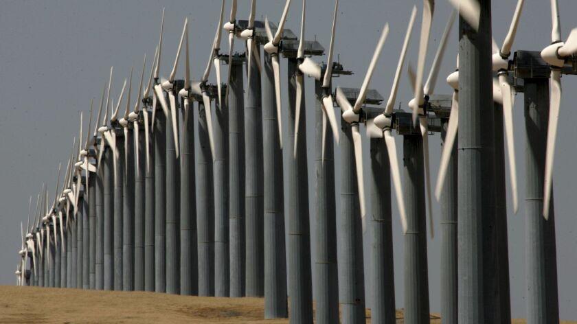 Wind Turbines Help Supply Oakland's Energy Needs