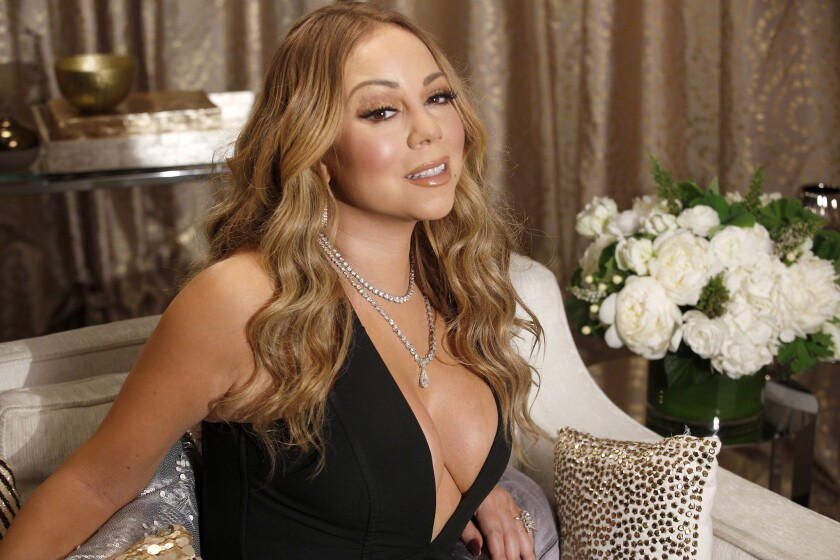 """Mariah Carey talks about the inside look at her life in the eight-part documentary series """"Mariah's World."""""""