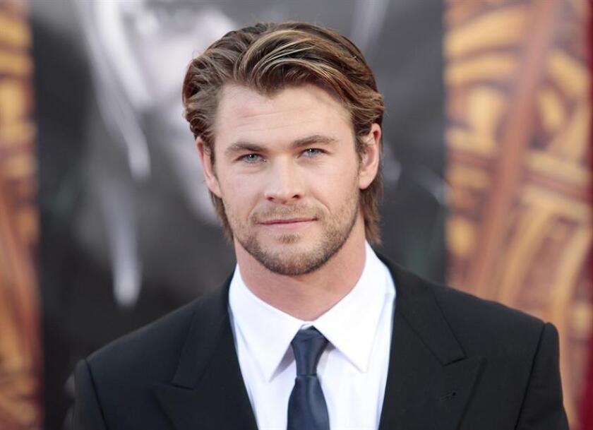Fotografía del actor australiano Chris Hemsworth. EFE/Archivo