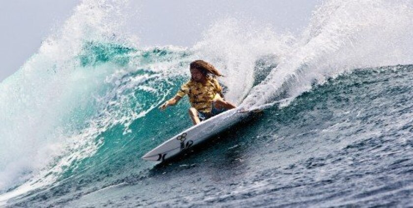 Rob Machado catches a wave. Courtesy photo