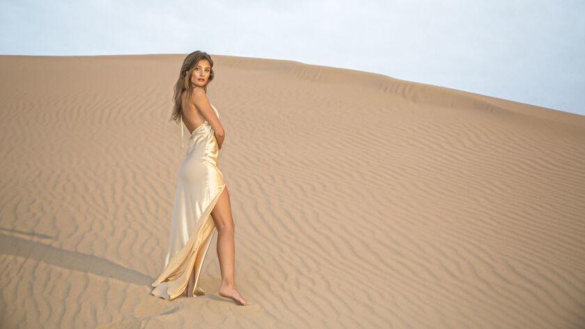Kalahari Dress - Designer Teresa Pinedo launched her resort ready-to-wear line Saint Mojavi this mon