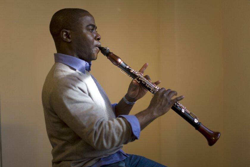 Clarinetist Anthony McGill. Photo: Ozier Muhammad/The New York Times