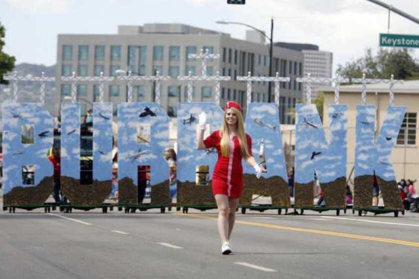 Parade soars through Burbank