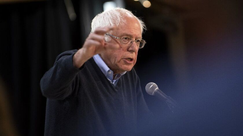 Bernie Sanders Holds Campaign Town Hall In Fort Dodge, Iowa