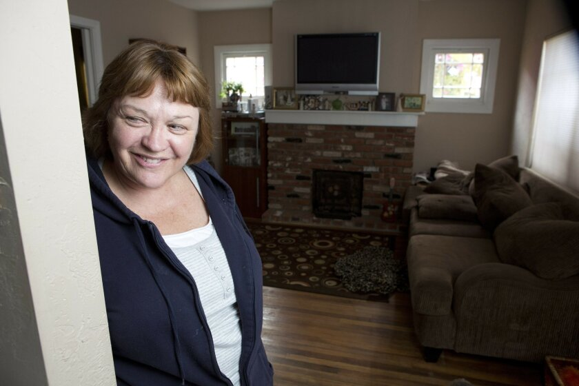 Donna Marvel, of City Heights, had her home's mortgage balance reduced.