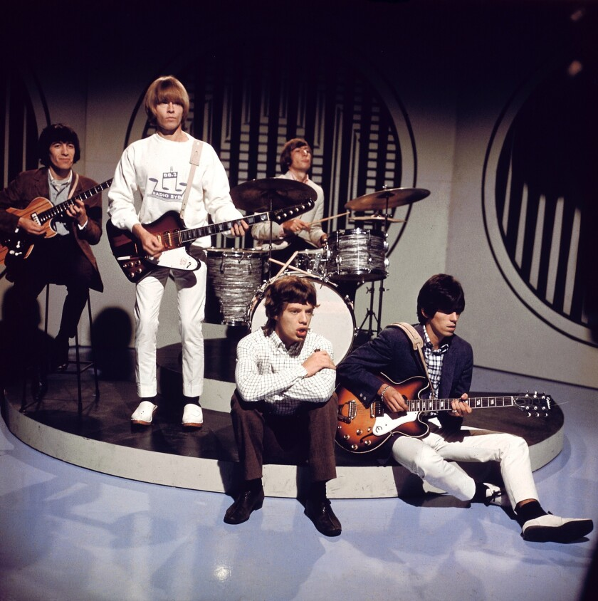 FILE - 50 Years Since First Rolling Stones Album Released