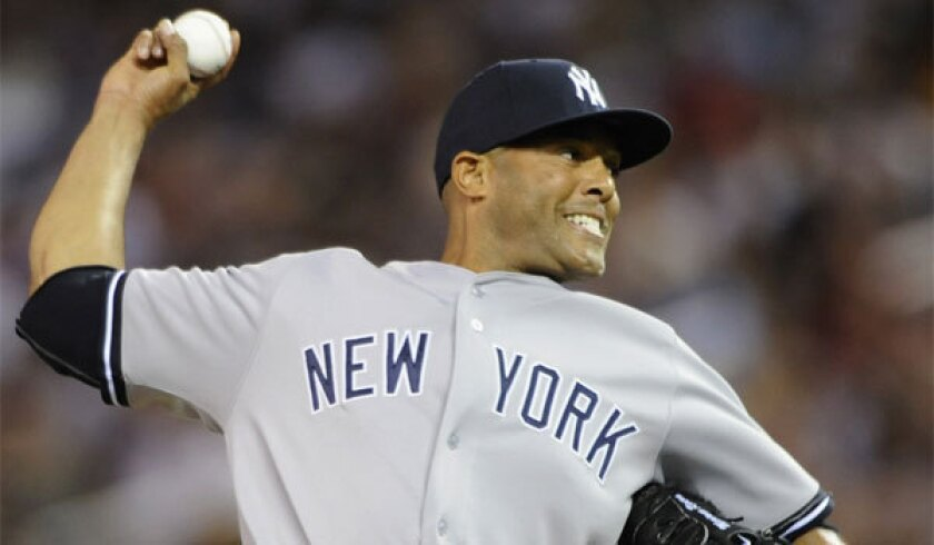 New York Yankees closer Mariano Rivera could give the American League an advantage in Tuesday's All-Star game.