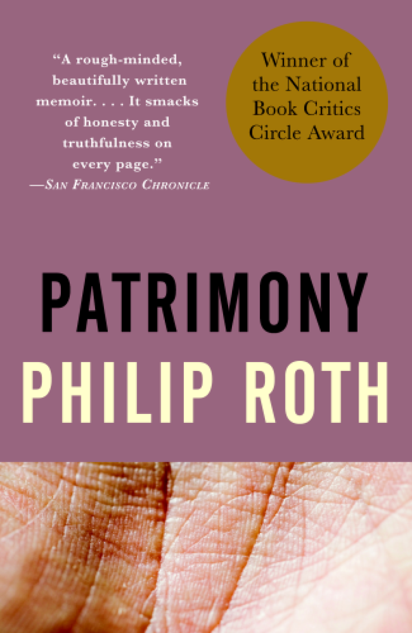 """""""Patrimony,"""" by Philip Roth."""