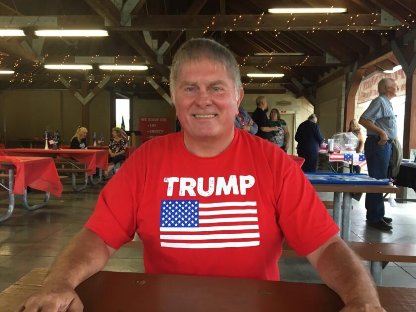 Douglas Rogalla, chairman of the Monroe County, Wis., GOP